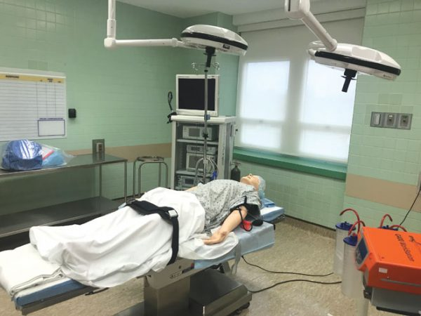 RWJUH Rahway unveils simulated operating room