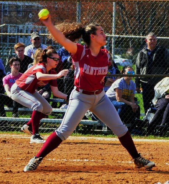 ROSELLE PARK JUNIOR PITCHER MADDIE HUMMEL – 2018